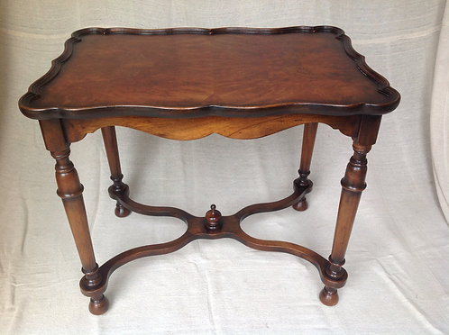 Victorian (c 1870) mahogany and Walnut Table
