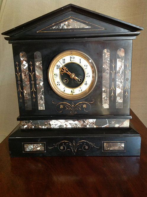 French (c1867) large Japy Freres 8 Day Clock