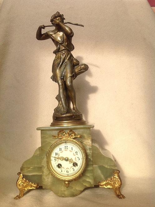 French L Marti & Cie Mantel Clock