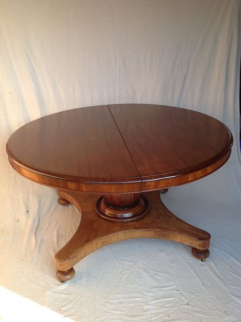 Victorian (c1870) Mahogany Extendable Dining Table