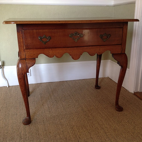 Antique George II (c 1750) Fruitwood Side Table