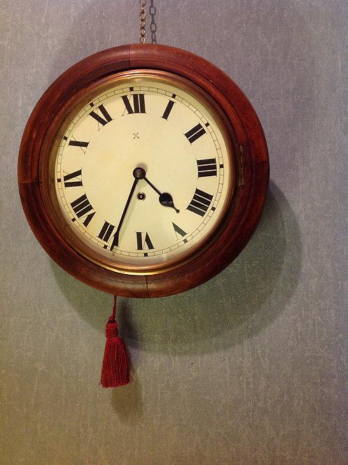 Victorian (c1880) German 8 Day Circular Clock