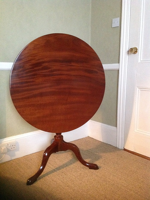 Victorian (c 1860) Mahogany Occasional Round Table