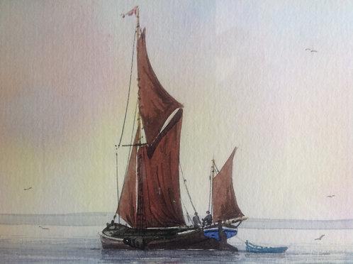 """Estuary Scene"" by Alan Whitehead"