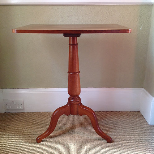 Victorian (c 1840) Mahogany Tripod Wine Table