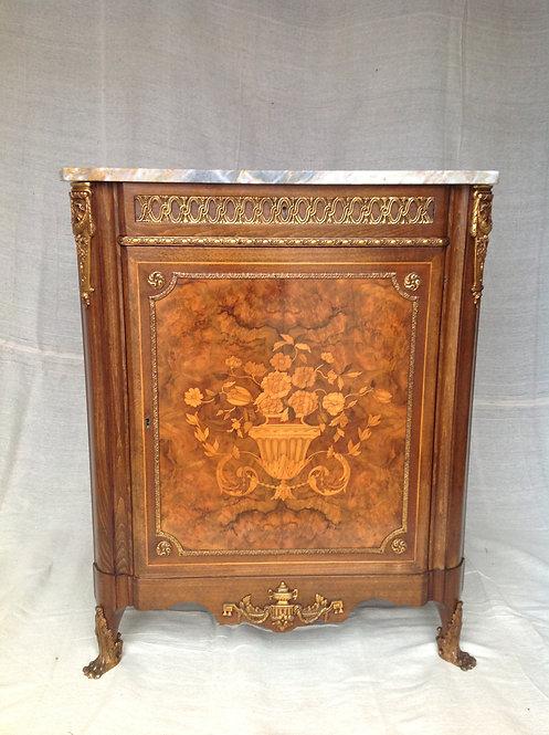 French Louis XV Style Inlaid Kingwood Veneer