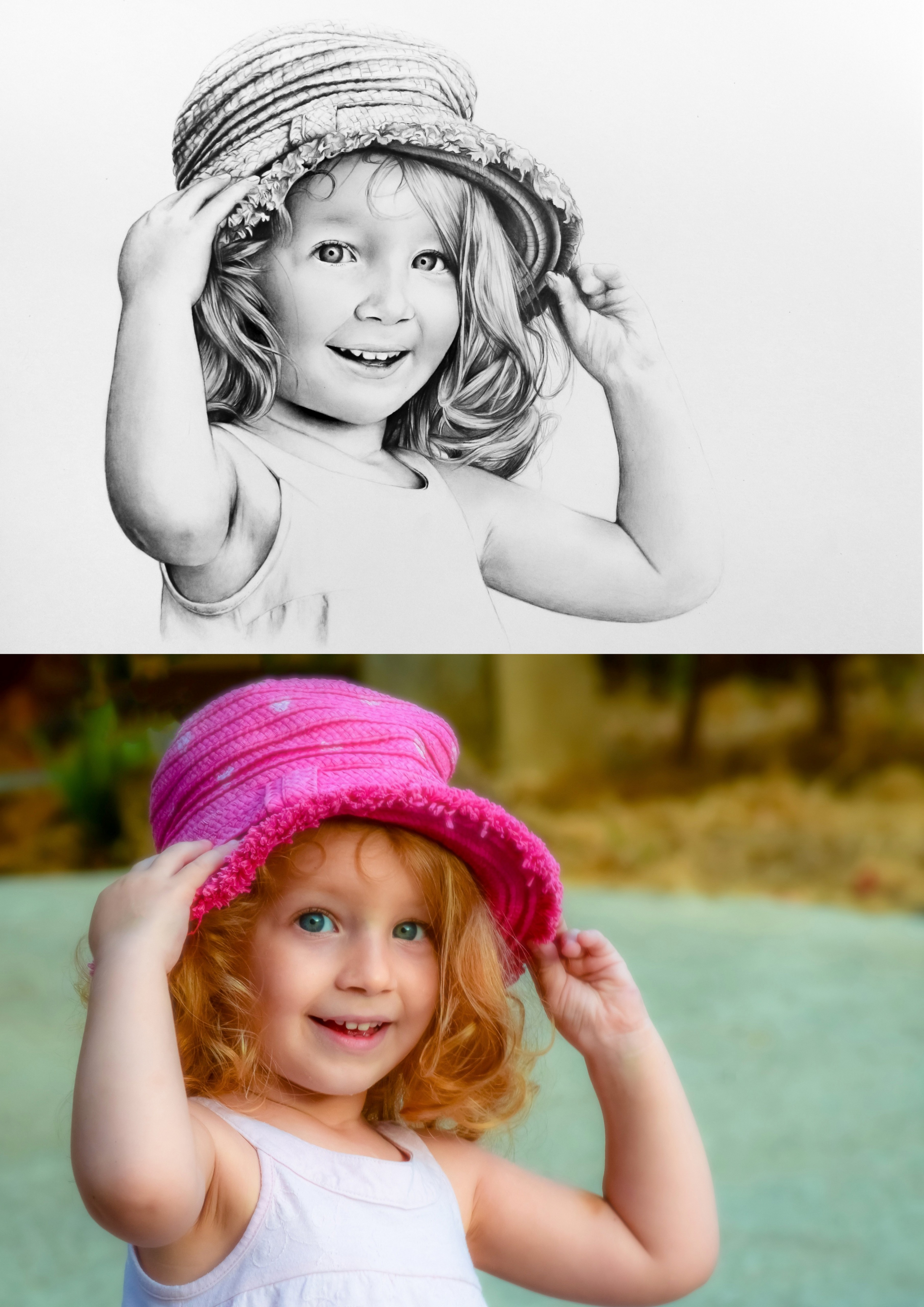 Comparatif photo/portrait