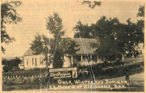 Original Springdale Country Club 1928