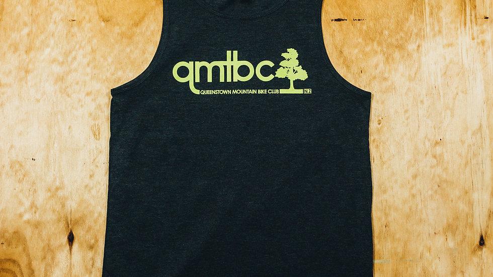 Men's Grey/Lime QMTBC Singlet