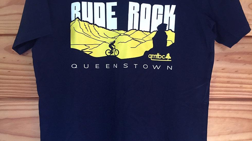 Rude Rock T-Shirt - Silhouette Rider