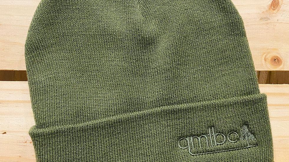 AS Colour QMTBC Beanie - Dark Green