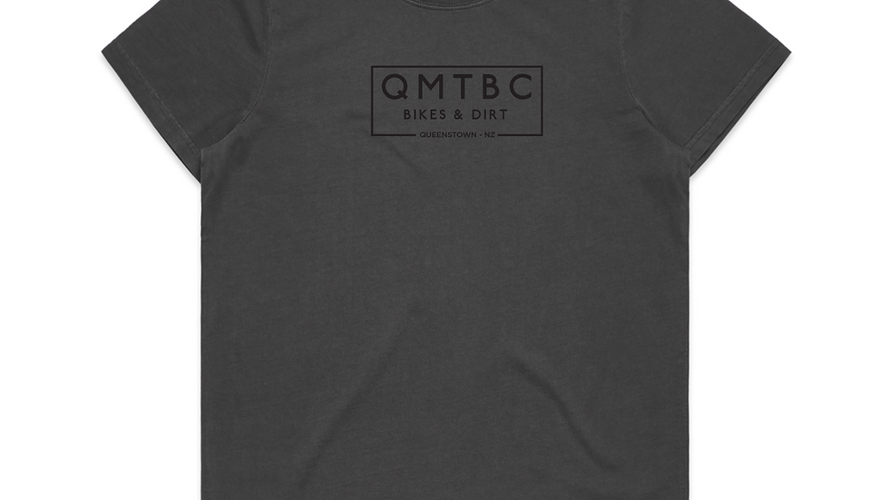 Men's Vintage QMTBC Faded Black Tee