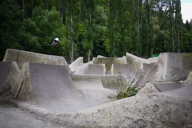 Gorge Road Jump Park - The future!