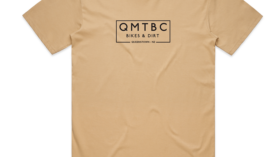 Men's Vintage QMTBC Tan Tee