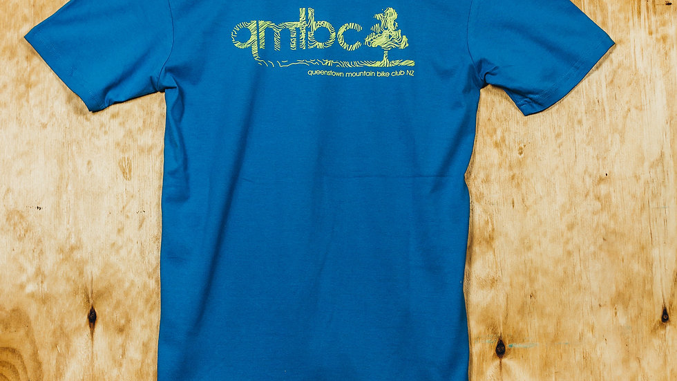 Men's QMTBC Topo Logo Royal Blue T-Shirt