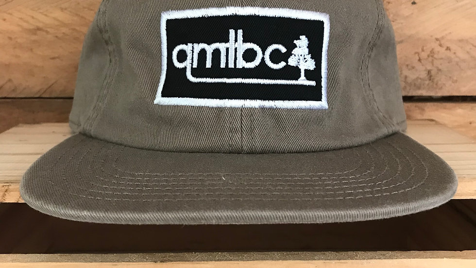 AS Colour QMTBC 6 Panel James Cap- Coffee w/ Applique