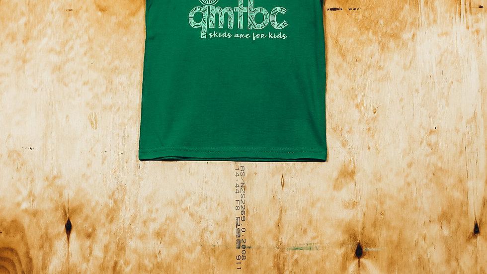 Kids Skids Green T-shirt