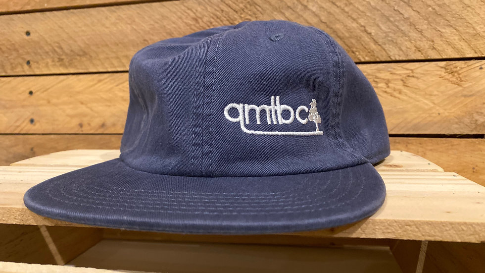 AS Colour QMTBC 6 Panel James Cap- Petrol Blue