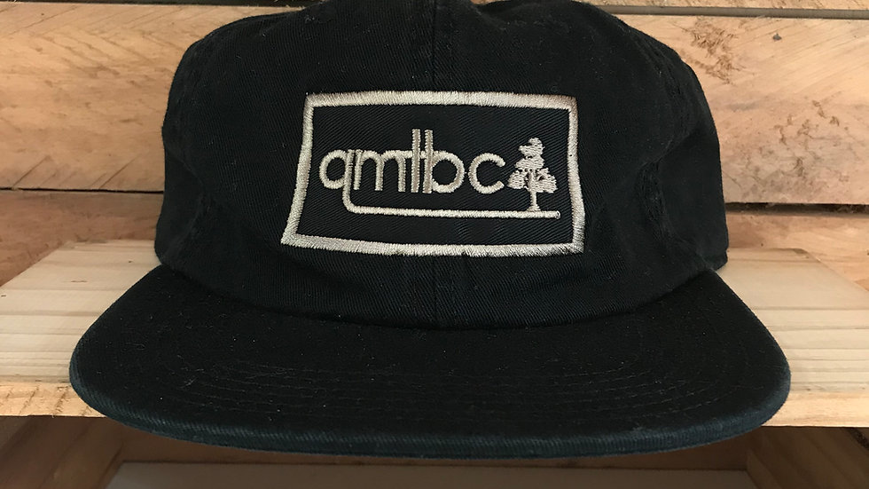 AS Colour QMTBC 6 Panel James Cap- Black w/ Applique