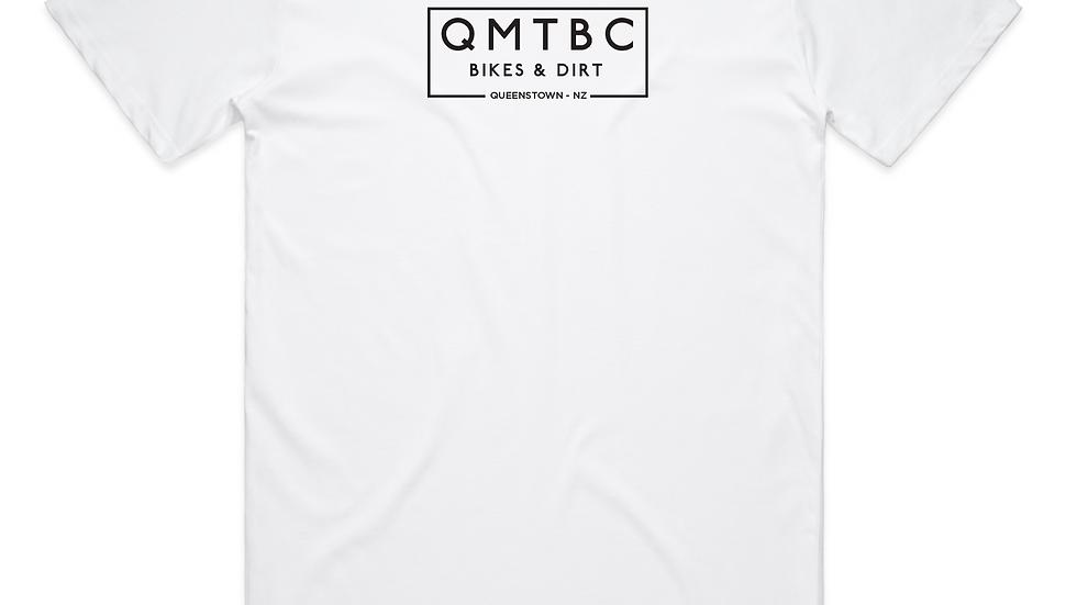 Men's Vintage QMTBC White Tee