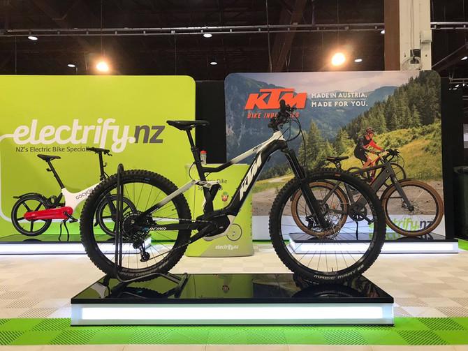 KTM E Bike Demo at 7mile!!