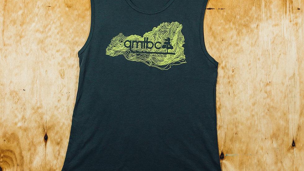 Women's QMTBC Topo Lines Tank Top