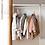 Thumbnail: HOLE PLASTIC HANGER HANGING HOOK INDOOR WARDROBE CLOTHES ORGANIZATION STORAGE B