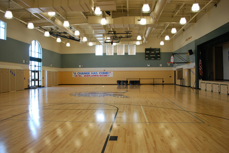 Marina Vista Elementary School Gym