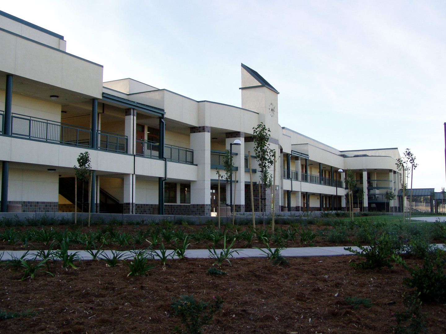Green Valley Middle School Front Entrance