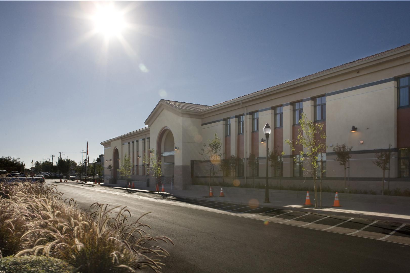 Marina Elementary School Front Entrance