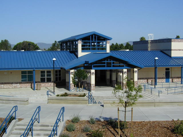 Crystal Middle School Courtyard