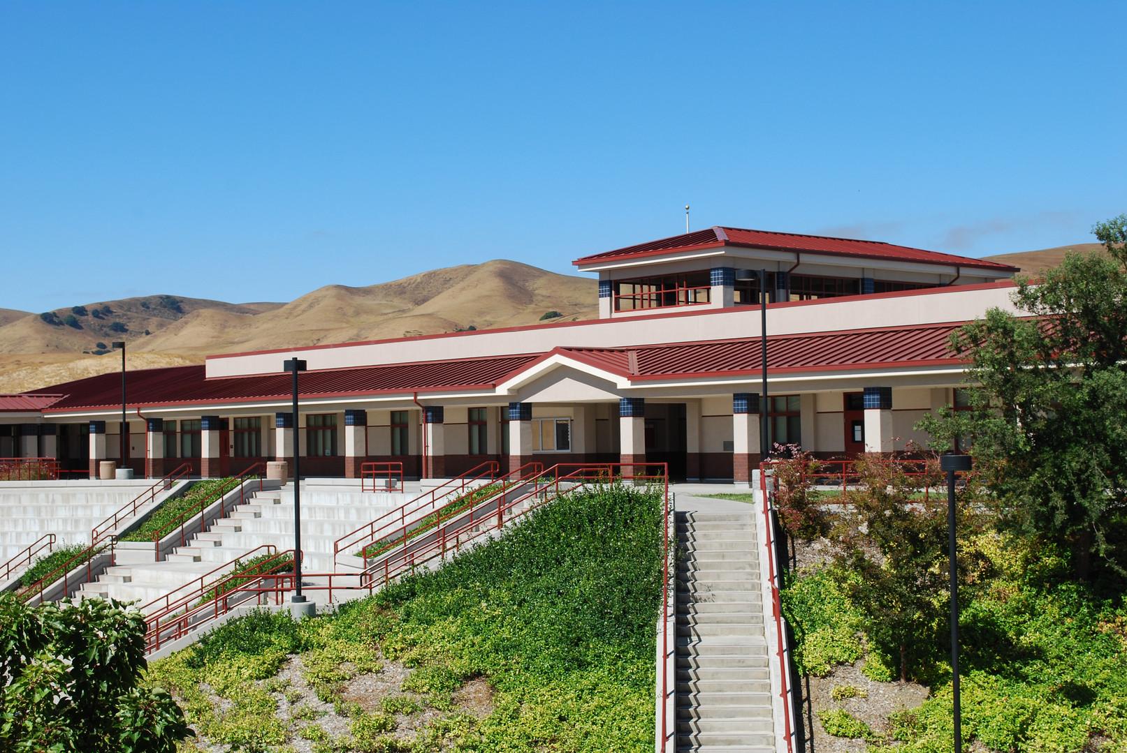 Cordelia Hills Elementary School Courtyard