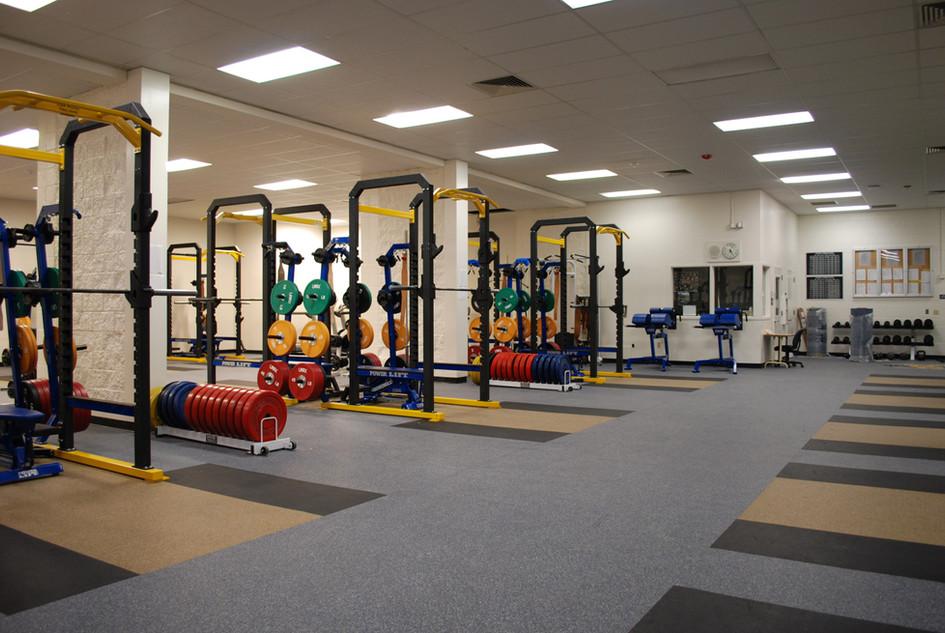 Oak Ridge High School Workout Facility