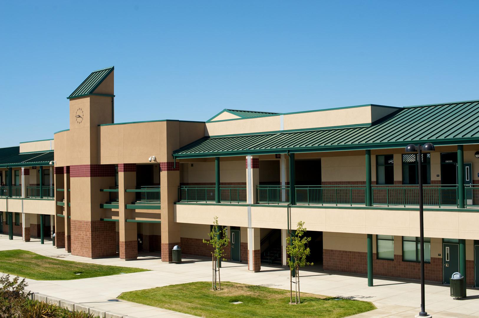 Range Road Junior High School Courtyard
