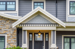A perfect neighborhood.jpg Houses in suburb at Fall in the north America.jpg Fragment of a luxury ho