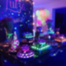 DJ para festa neon teen