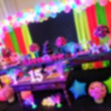 Festa Neon infantil