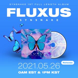 정규앨범 'Fluxus' 앨범아트 공개