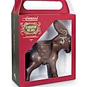 Donkey made of donkey's milk chocolate (130gr)