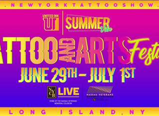 LUGDUN ARTISANS at the United Ink Summer Vibes Tattoo Festival