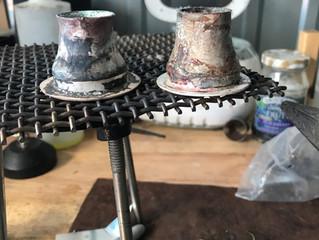 Creating a pair of custom Sterling Silver Ear Plugs