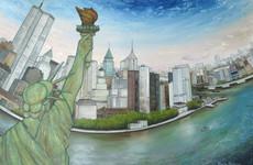 NY Estatua de la Libertad