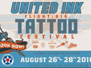 Join us at the United Ink Flight: 816 Tattoo Festival this August 26-28