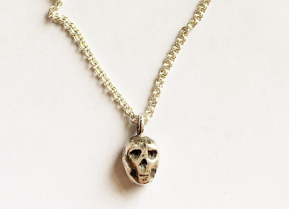 skull necklace for women, designer necklace by LUGDUN ARTISANS