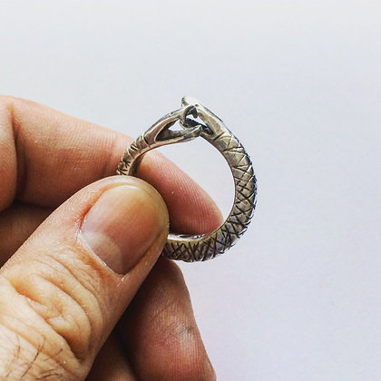 Mens Ring, Snake Ring, Designer Ring, Adjustable Ring, statement jewelry, LUGDUN ARTISANS