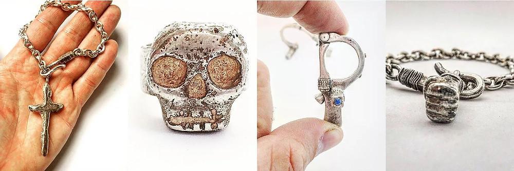 LUGDUN ARTISANS Rebel Handcrafted Jewelry