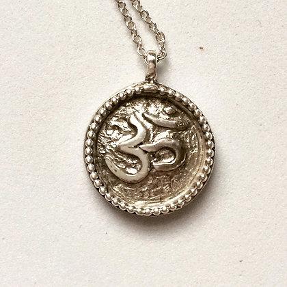 Om Necklace , Womans om necklace, yoga , Designer necklace, woman's necklace , woman jewelry, LUGDUN ARTISANS
