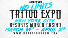 Lugdun Artisans & United Ink No Limits Tattoo Expo @ the Resorts World Casino March 31st- April