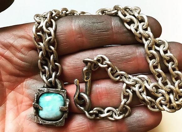 Rustic Framed Necklace