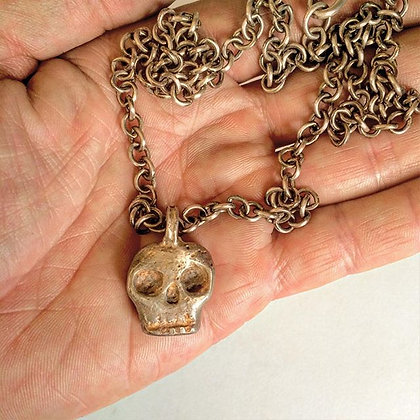 DROP SHIP - Skull Pendant Necklace